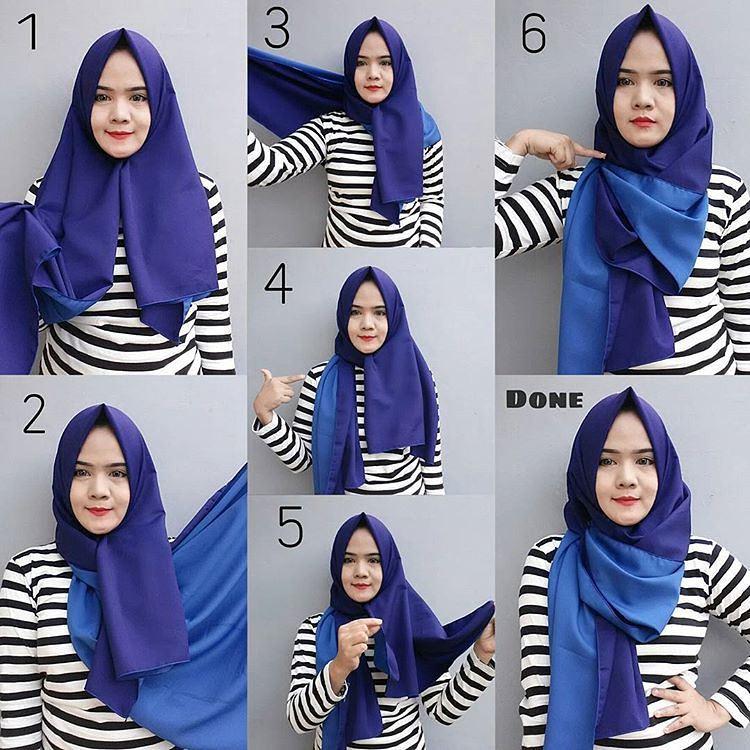 Tutorial Hijab Simpel Hijab Modern Shabia Hijab